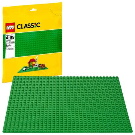 LEGO Classic Green Baseplate 10700 Building Accessory (1 Piece) (Logo Table Runner)