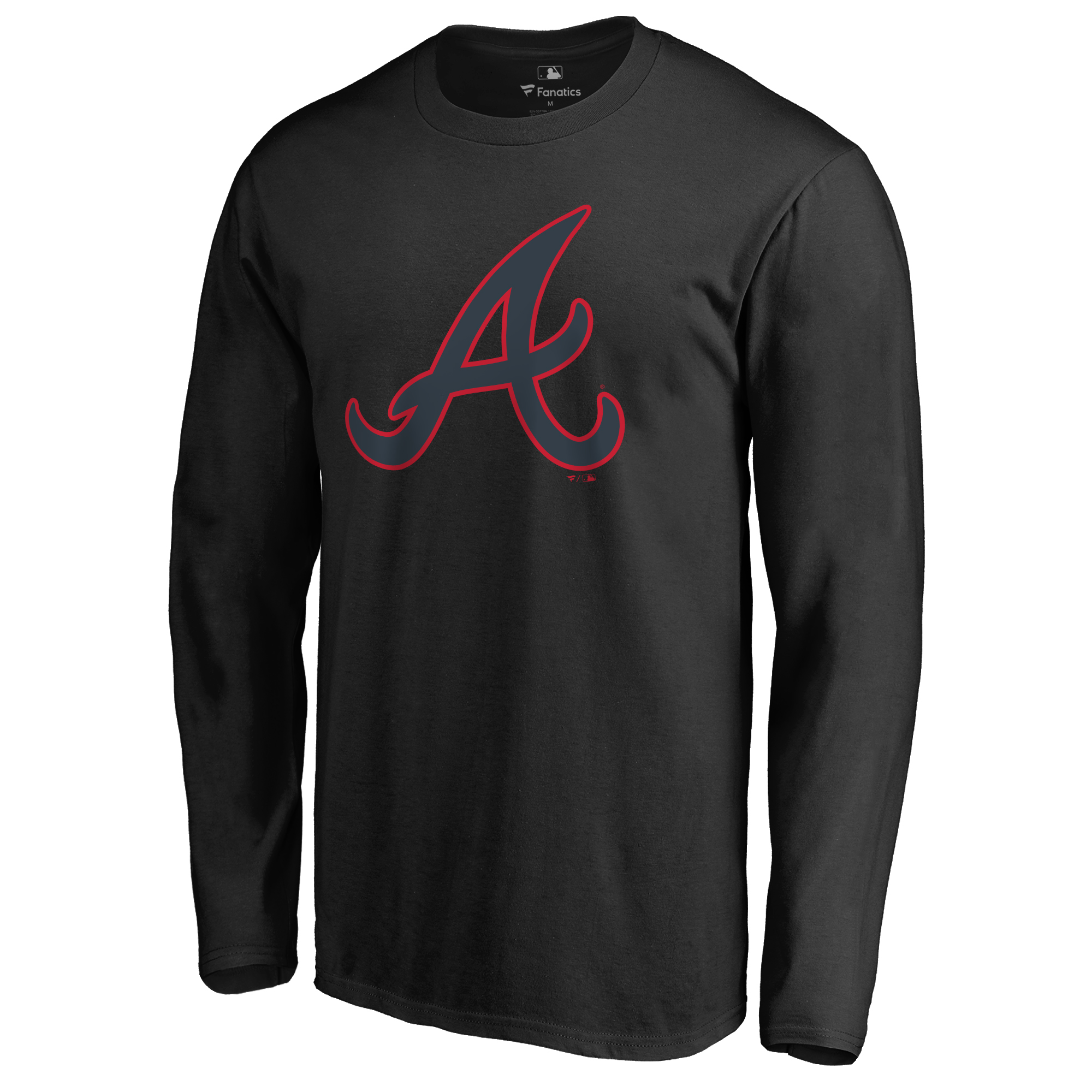 Atlanta Braves Taylor Long Sleeve T-Shirt - Black