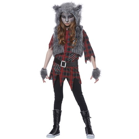 Werewolf Girl Child Costume - Costumes At Walmart
