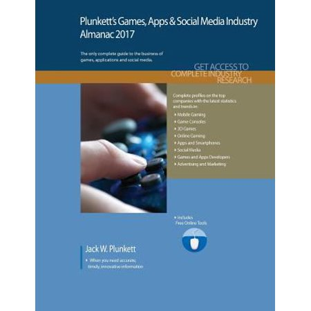Plunketts Games  Apps   Social Media Industry Almanac 2017