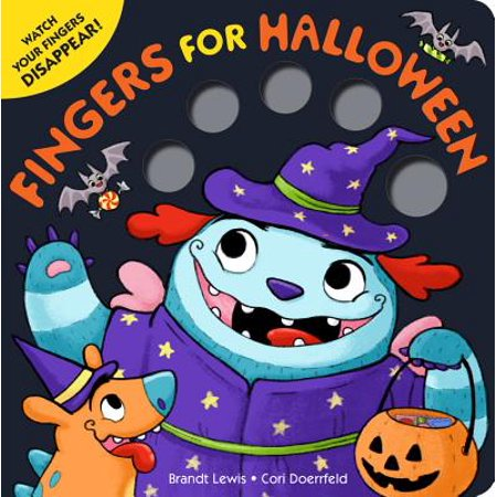 Fingers for Halloween (Board Book)