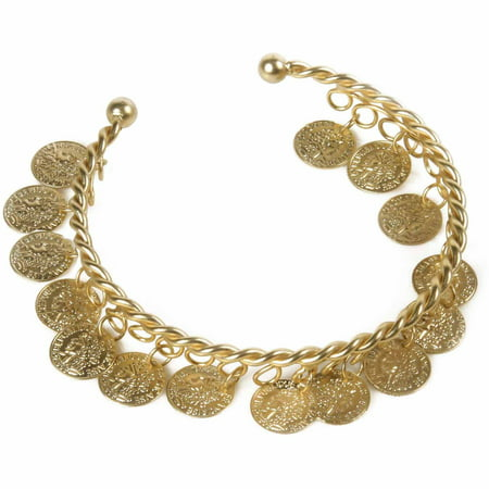 Grecian Coin Bracelet Adult Halloween Accessory