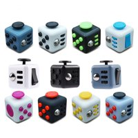 Fidget Cube Desk Toy Stress Anxiety Relief Focus Puzzle Anti-Anxiety Reduce Pressure Gift