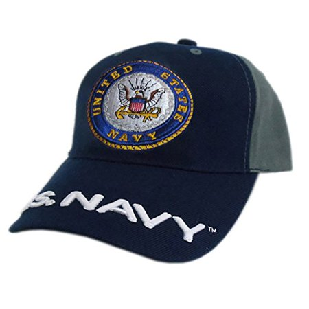 80837c382172e US Honor Official Embroidered Soldier Navy Logo Baseball Caps Hats - Walmart .com