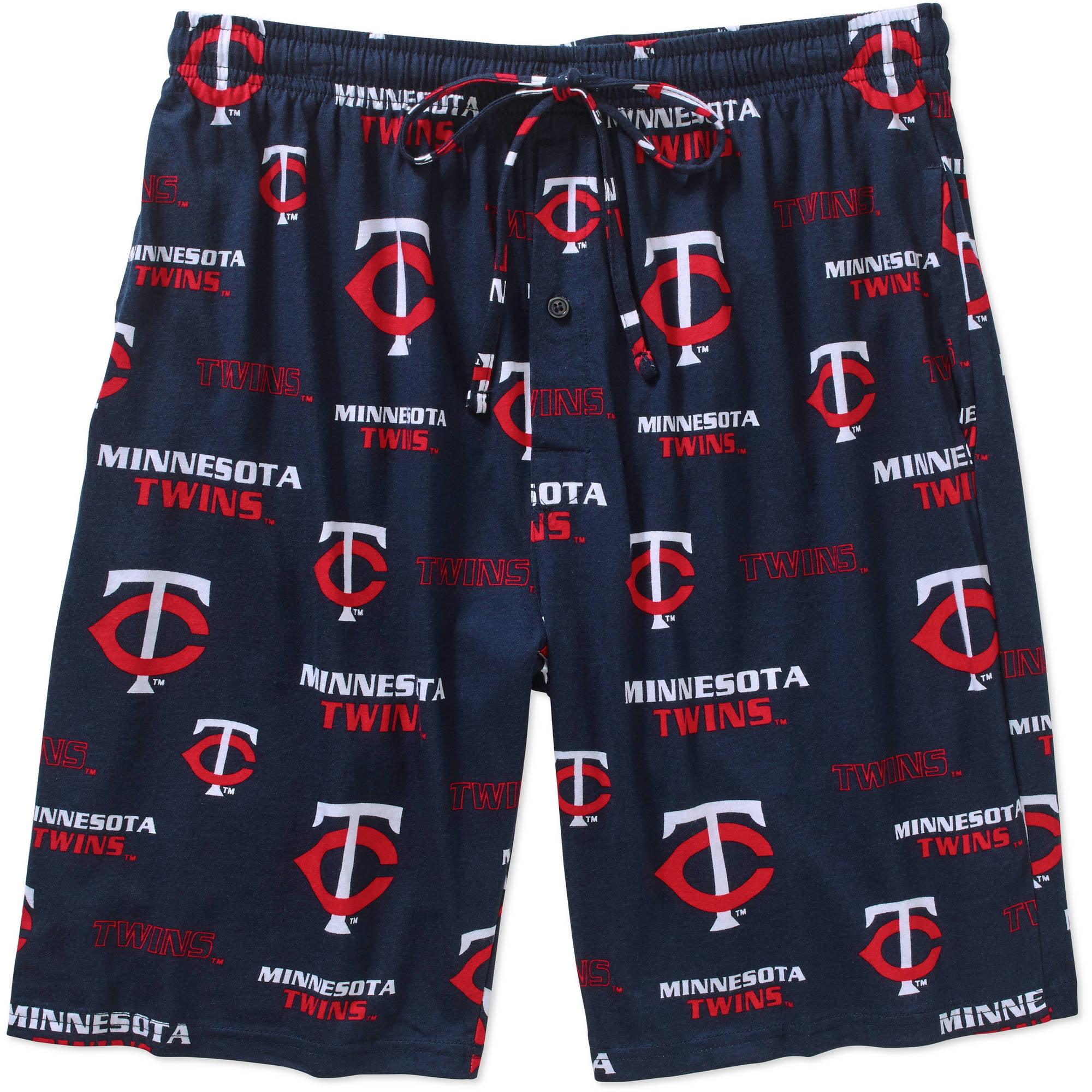 MLB Big Mens Minnesota Twins Knit Jam Short, 2XL