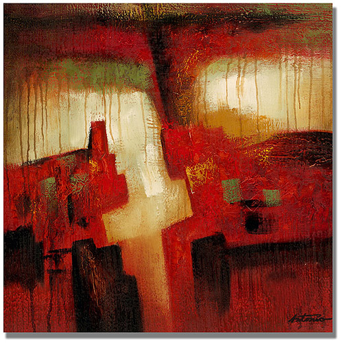 "Trademark Fine Art ""Abstract I"" Canvas Art by Antonio"