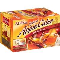 Alpine® Original Spiced Apple Cider Instant Drink Mix 12-0.81 oz. Single-Serve Cups