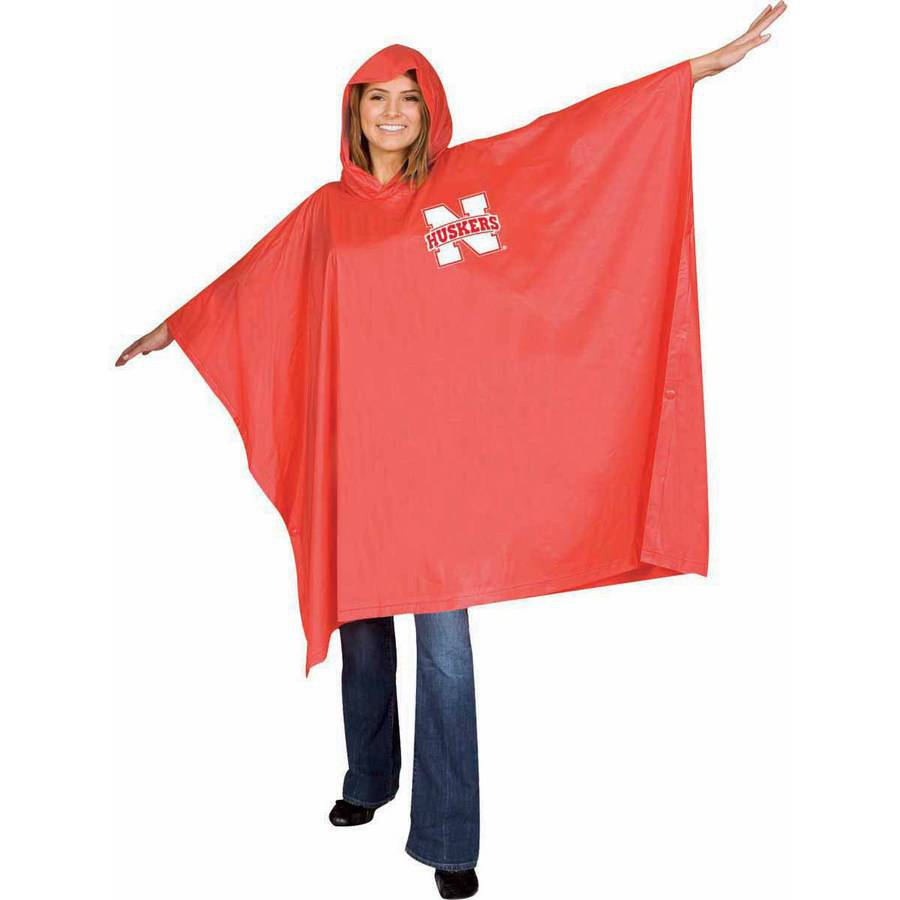 NCAA Nebraska Medium-Weight Stadium Poncho by STDUD