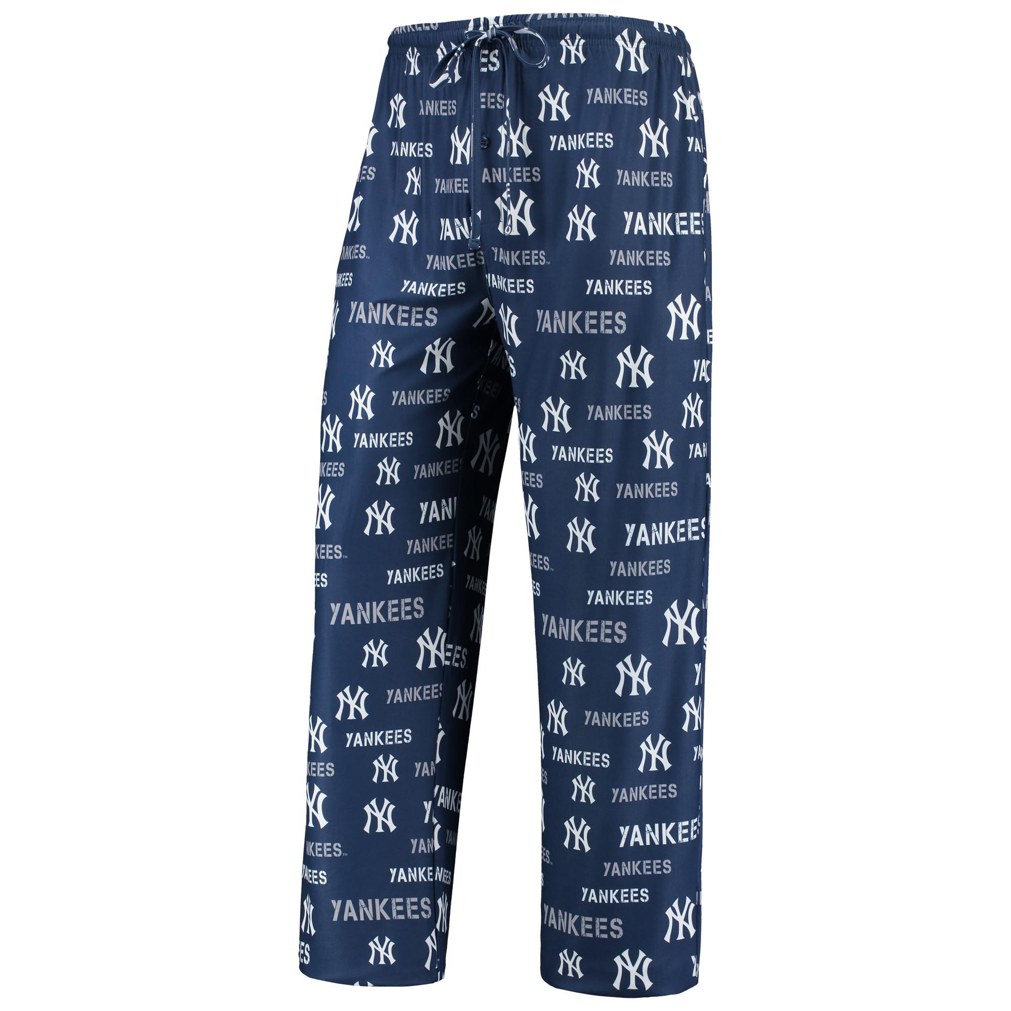 New York Yankees Concepts Sport Midfield Pants - Navy