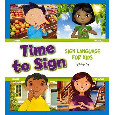 Time to Sign : Sign Language for Kids - You In Sign Language