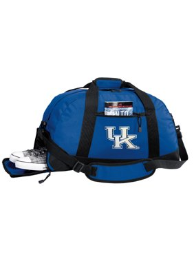 Product Image Broad Bay Kentucky Wildcats Gym Bags University of Kentucky  Duffle Bag WITH Cool SHOE POCKET! 5cf22879b11fe