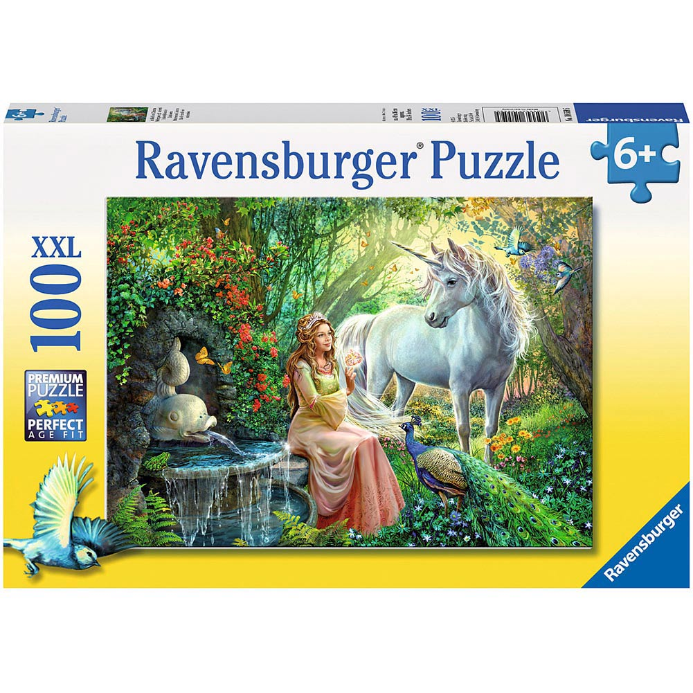 Princess and Unicorn 100 Piece Puzzle