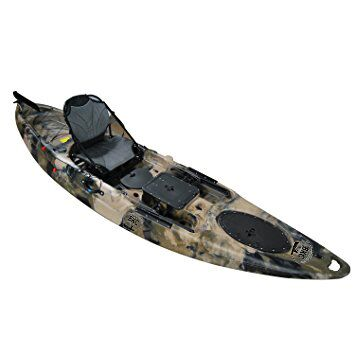 BKC UH-RA220 11.5 foot Riptide Angler Sit On Top Fishing ...