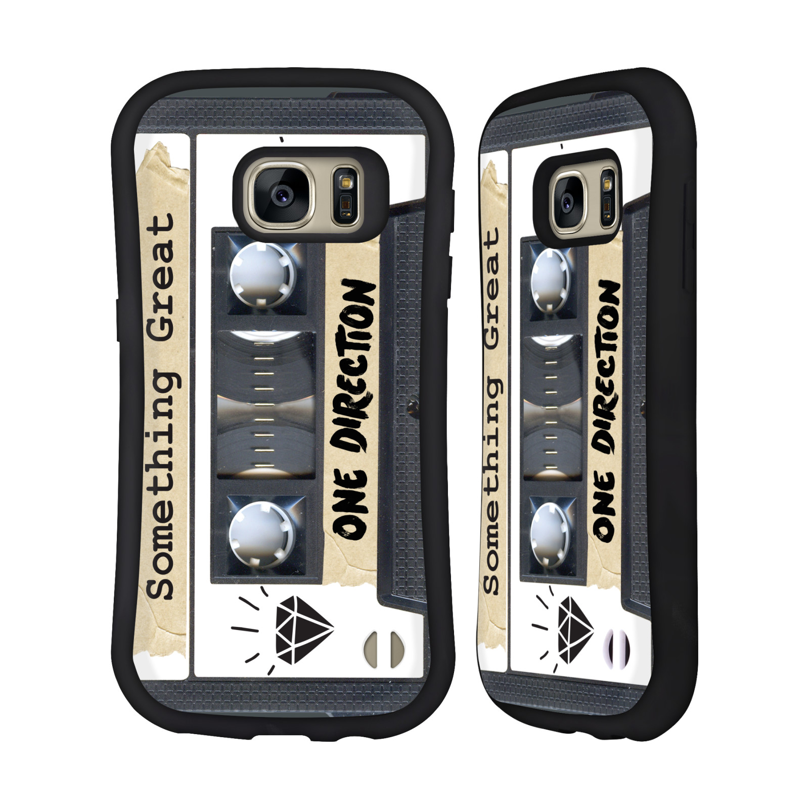 OFFICIAL ONE DIRECTION CASSETTES MIDNIGHT MEMORIES HYBRID CASE FOR SAMSUNG PHONES