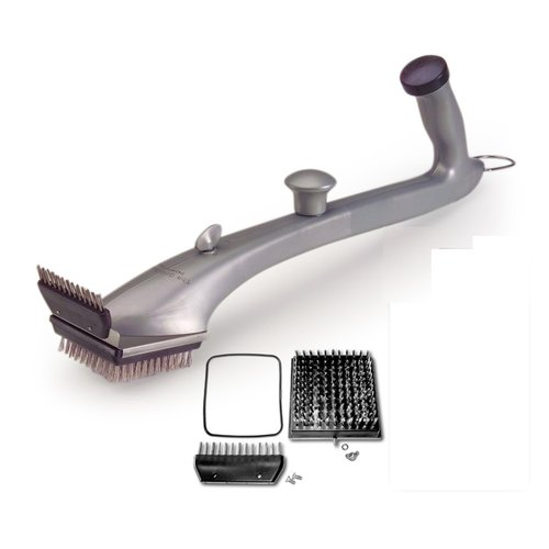 Grill Daddy Pro Grill Brush with Replacement Brush