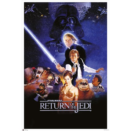 "Star Wars: Episode VI - Return Of The Jedi - Movie Poster / Print (Regular Style - No Cast Credits) (Size: 24"" x 36"")"