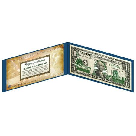VIRGINIA State $1 Bill *Genuine Legal Tender* U.S. One-Dollar Currency -