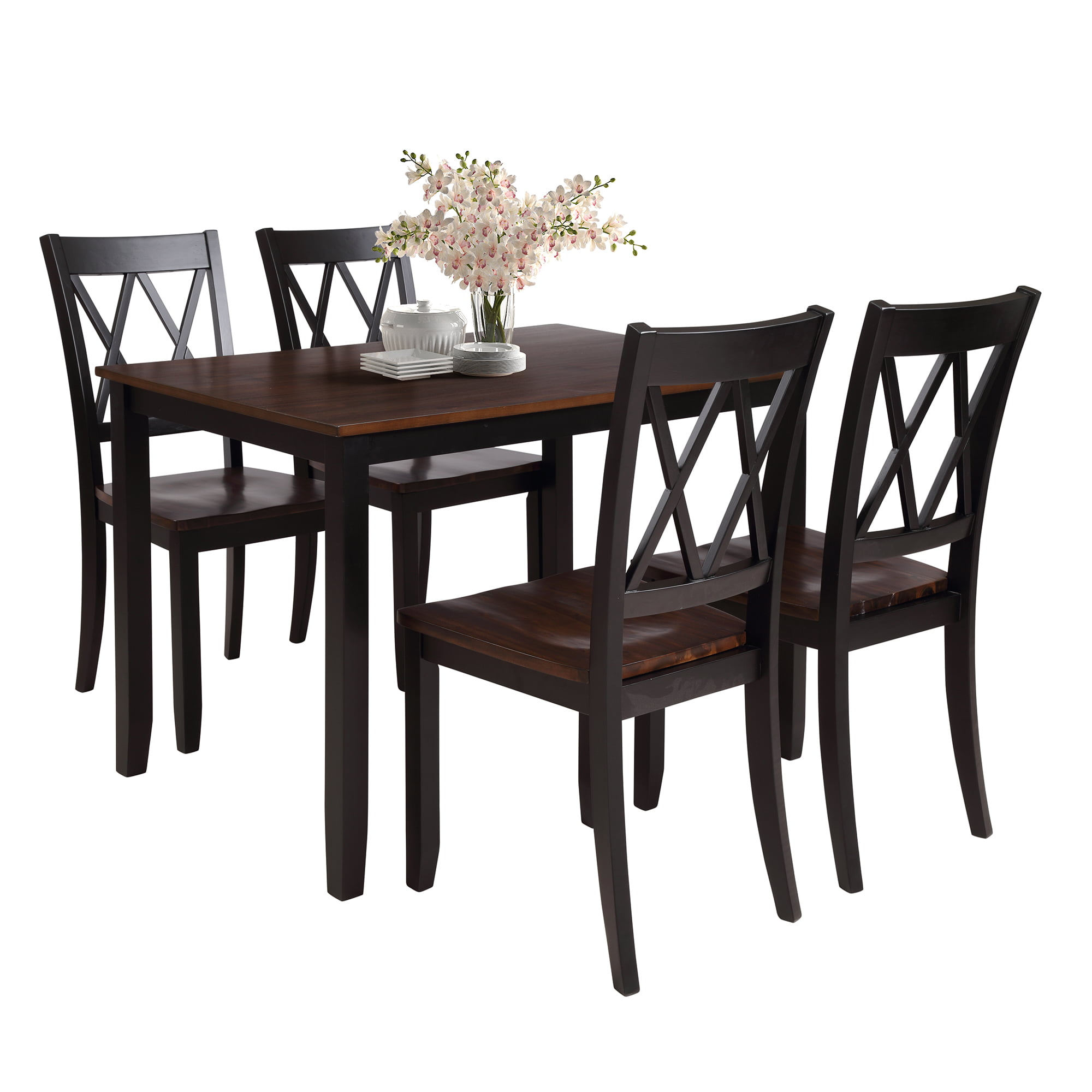 clearance dining room sets clearance dining table set with 4 chairs 5 piece wooden kitchen table set rectangular dining 842