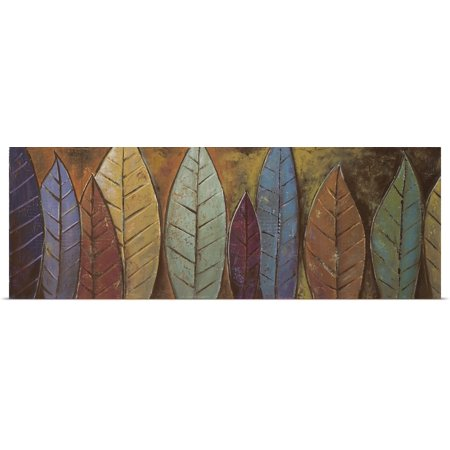 Great BIG Canvas | Rolled Patricia Pinto Poster Print entitled Tall Leaves - Tall Poster