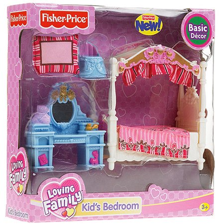 Fisher-Price Loving Family Dollhouse: Kids Bedroom