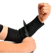 1 Pair Arm Protection Sleeve, Sleeve Anti-Cut Burn Resistant Sleeve,Anti Abrasion Safety Armband for Garden Farm Work/Black