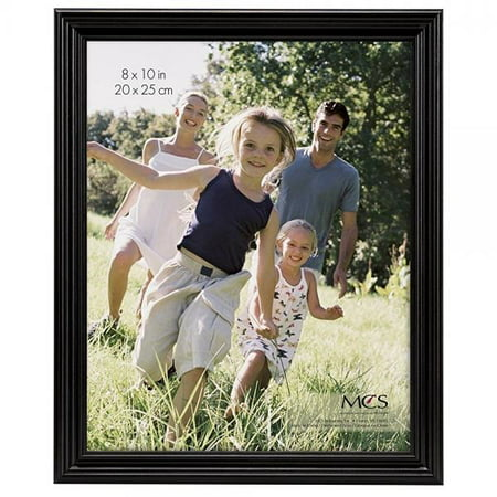 Tiger Woods Framed Pictures - MCS 8x10 Inch Solid Wood Picture Frame, Black (53624)