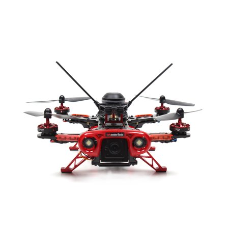 WonderTech Rebel 5.8G Remote Control Race Drone With Gps - Red