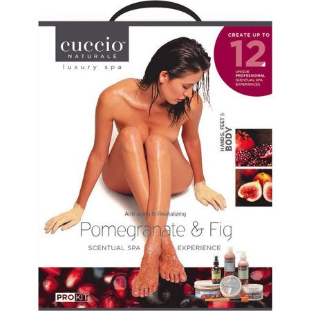 Luxury Spa Kit - Anti Aging & Revitalizing - Pomegranate & Fig