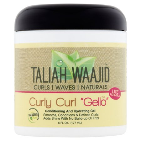 Taliah Waajid Curly Curl Gello Conditioning and Hydrating Gel, 6 fl