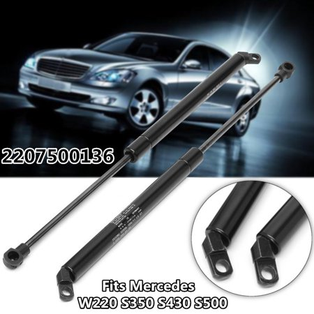 For Mercedes W220 S350 S430 S500 2 Pack Rear Window Gas Lift Supports Struts