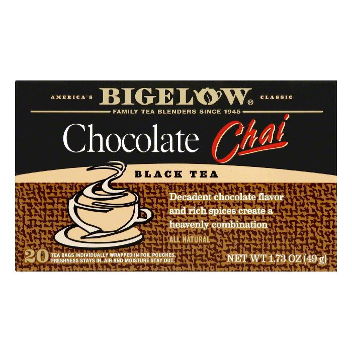 Bigelow® Chocolate Chai Black Tea Blend 20 ct Box