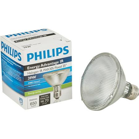 Philips 39W 120V PAR30 Halogen Infrared Flood