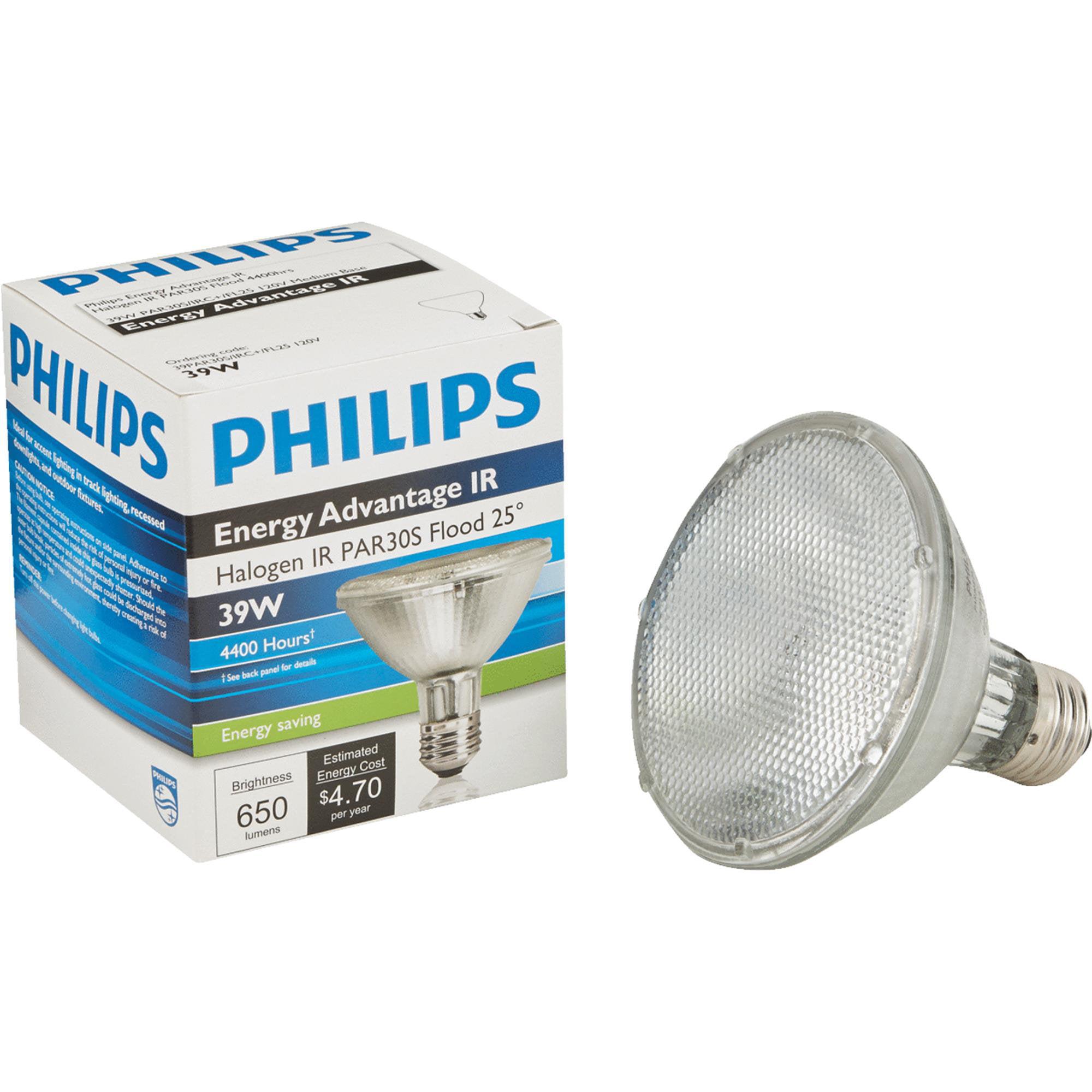 Philips Energy Advantage IR PAR30 Halogen Floodlight Light Bulb