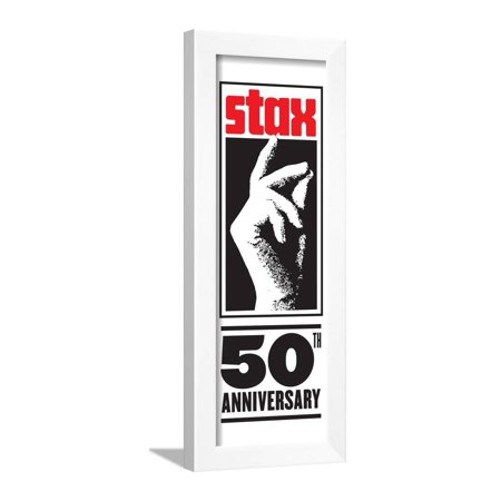 Stax Records 50th Anniversary Framed Print Wall Art - Walmart.com