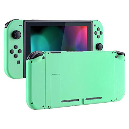 Soft Touch Grip Back Plate for Nintendo Switch Console, NS Joycon Handheld  Controller Housing with Full Set Buttons,DIY Replacement Shell for Nintendo