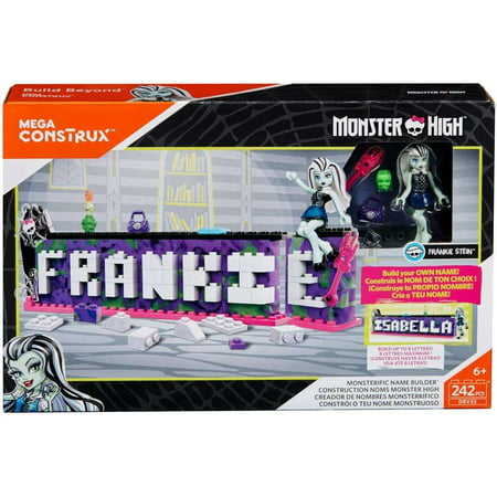 Mega Construx Monster High Monsterific Name Builder