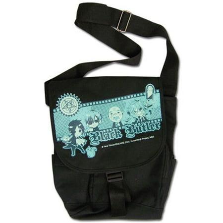Black Butler Group Anime Messenger Bag