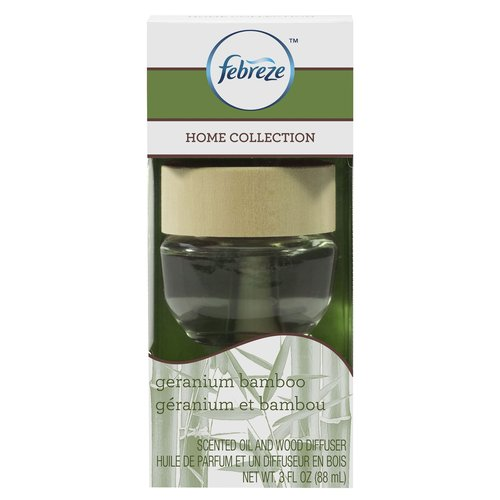 ***DISCONTINUED***Febreze Home Collection Diffuser, Geranium Bamboo, 3 oz