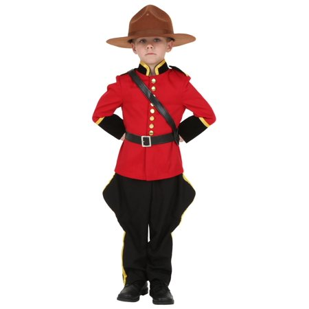Toddler Canadian Mountie Costume - Canada Halloween