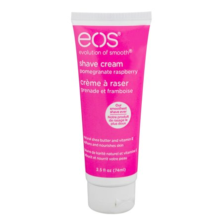 Shave Raspberry Honey (3 Pack eos Shave Cream Pomegranate Raspberry, 2.5 oz each)