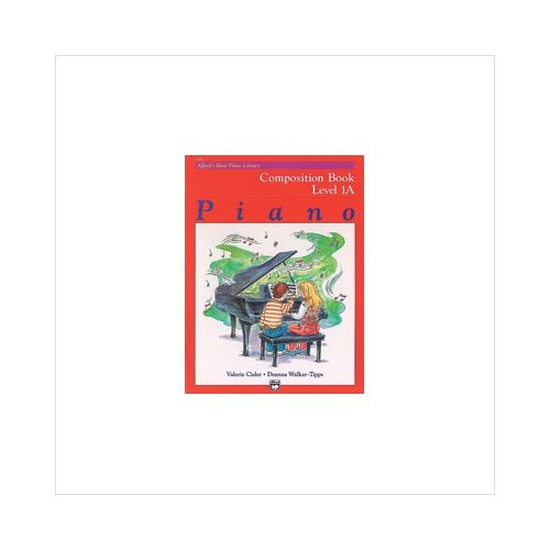 Alfred 00-14510 Basic Piano Course- Composition Book 1A Music Book by Alfred