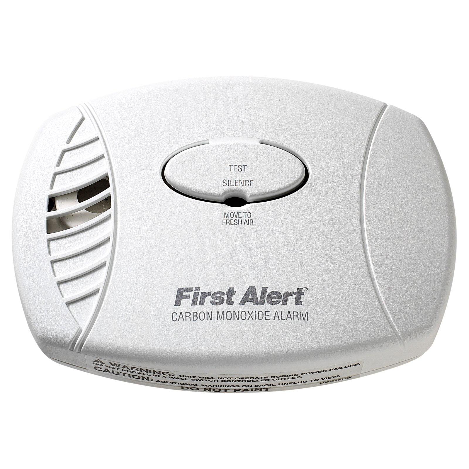 First Alert Plug-In Carbon Monoxide Detector