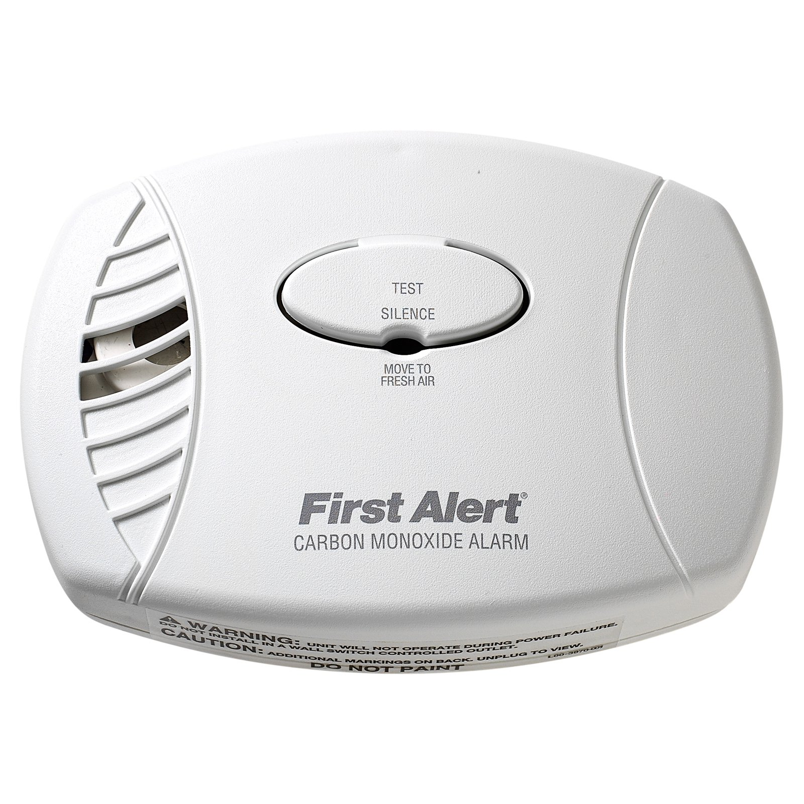 First Alert CO600 Plug-In Carbon Monoxide Alarm