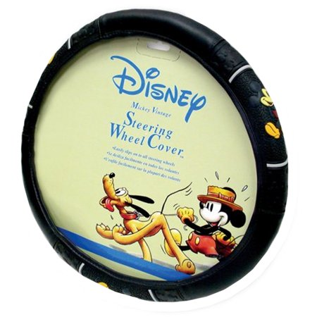 Steering Wheel Cover - Car Truck SUV - Disney - Mickey Mouse - Classic Vintage (Disney Car Accessories)