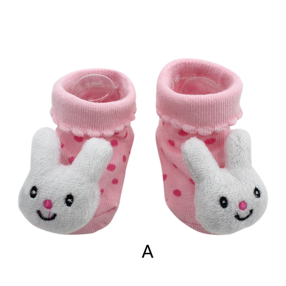 Baby Girl Boy Newborn Anti-slip Warm Sock kids Animal Claw Shoes Boots Prewalker