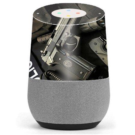 Skin Decal Vinyl Wrap For Google Home / Edc Pistol Flashlight