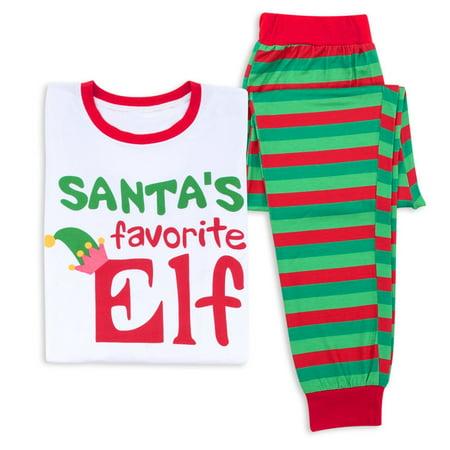 7ddbac4d87d6 Christmas Print Family Cotton Pajamas set Winter Parent-child Long ...
