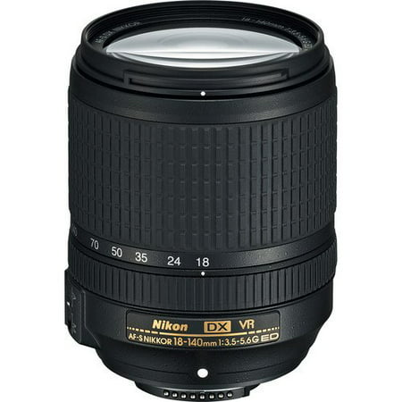 Nikon AF-S DX NIKKOR 18-140mm f/3.5-5.6G ED Vibration Reduction Zoom Lens with Auto Focus for Nikon DSLR Cameras International