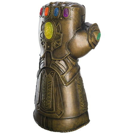 Marvel Avengers Infinity War Child Deluxe Infinity Gauntlet Halloween Costume Accessory - Kids Face Painted For Halloween