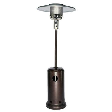 48000 BTU Stainless Steel Patio Heater Outdoor Propane Gas Floor Stand Heating